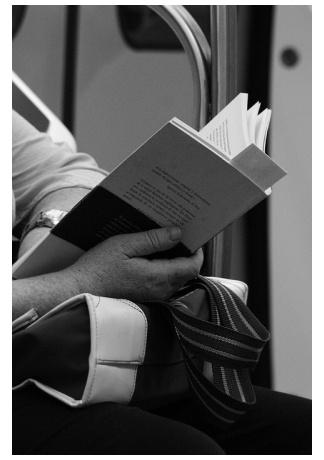 Kniha a čítanie v doprave