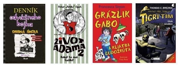Knihy pre deti, detské knihy 2017