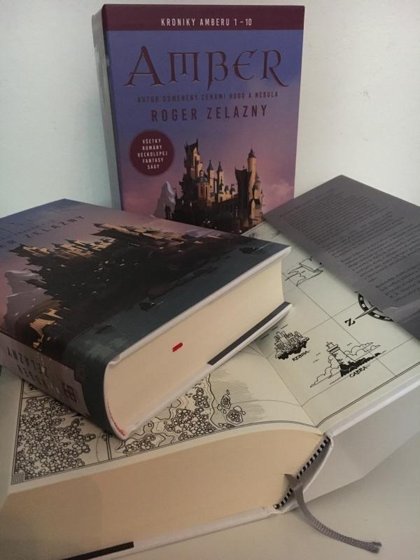 Kroniky Amberu, Zelazny autor Fantasy, vydavateľstvo Tatran