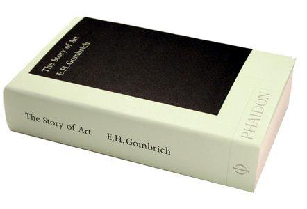 Stará pôvodná originálna kniha The Story of Art