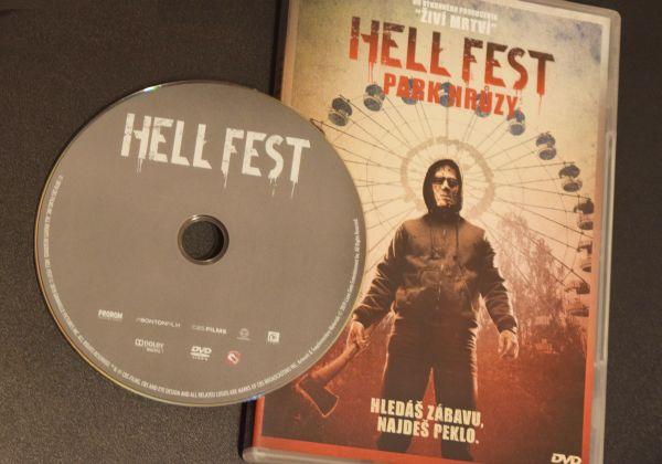 Hell Fest park hrôzy hrůzy