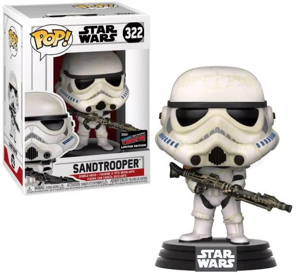 Funko POP Star wars Sandtrooper limitovaná