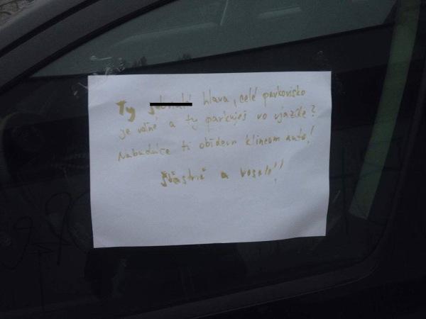 Parkuješ ako
