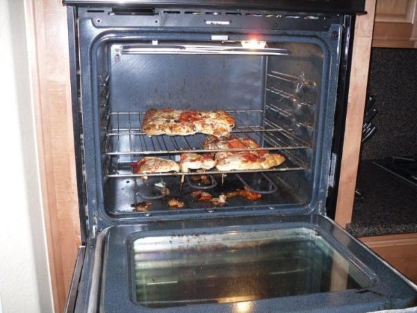 Zlyhanie mrazenej pizze