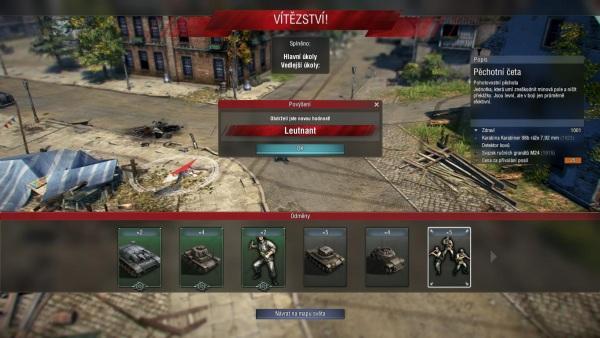 Blitzkrieg 3 screenshot z recenzie