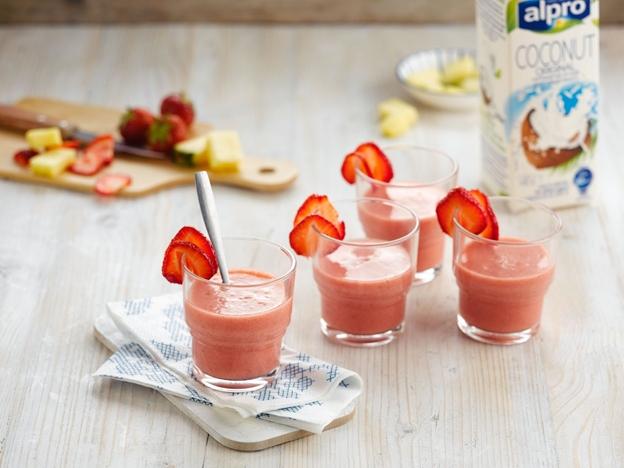 kokosové smoothies