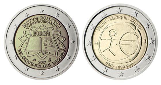 Zberateľské 2 EUR mince