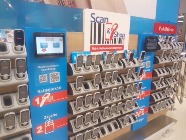 Tesco Scan&Shop Nitra