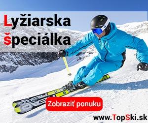 lyžiarska výbava a lyže