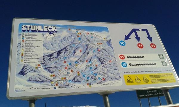 Stuhleck, Spital Semmering lyžovačka