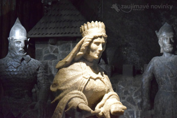 Wieliczka, soľná baňa, Poľsko