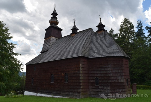 Kostol sv. Michala Archanjela, skanzen Stará Ľubovňa