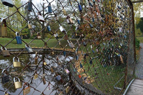 Zámky lásky, rotunda a most pri Bojnickom zámku