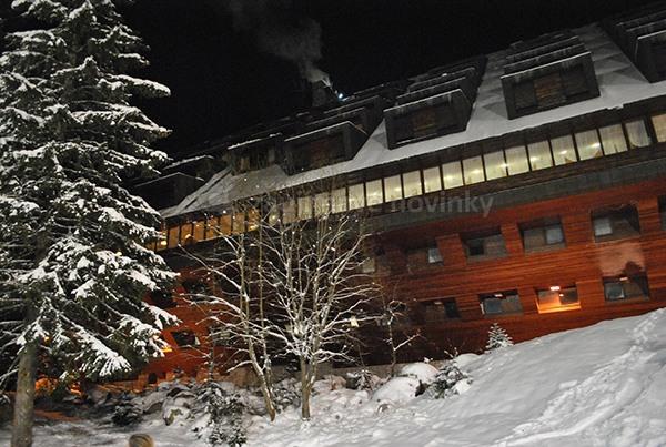 Hotel Junior Jasná, pred požiarom