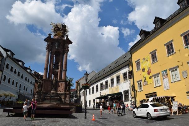 Banská Štiavnica, Trojičné námestie