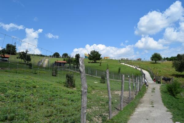 Zveropark v Revištské podzámčie pri Žarnovici