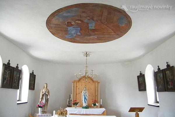 Skanzen Vychylovka Kaplnka Panny Márie Ružencovej
