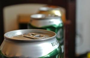 Cider pivo plechovky