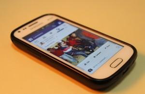 Facebook, v mobile