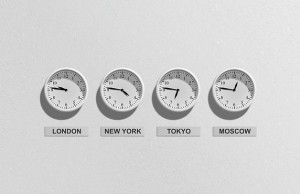 časové zóny a hodiny