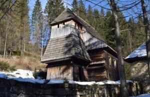 Kostol Zábrež, skanzen Orava