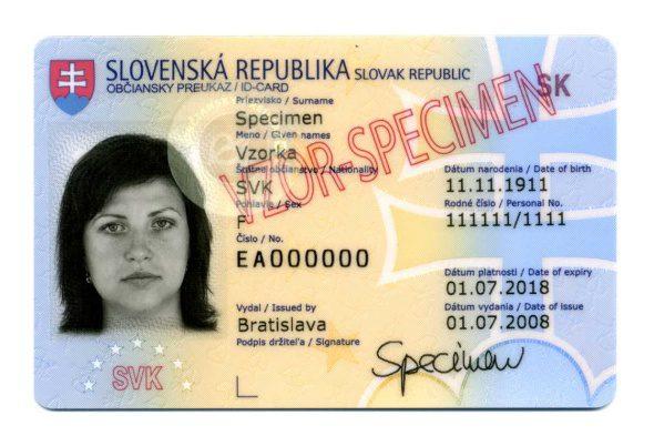 vzor občianskeho preukazu, minv.sk
