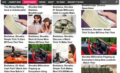 Falošné magazíny