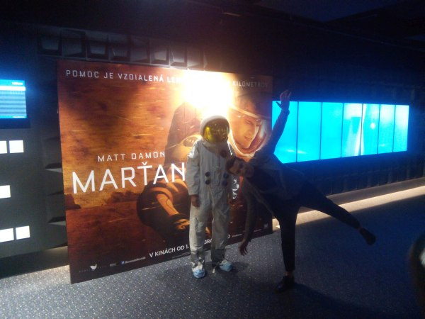 Marťan film a Bruno Ciberej