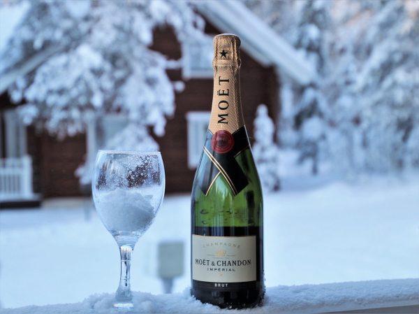 Champagne, šampanské Moet