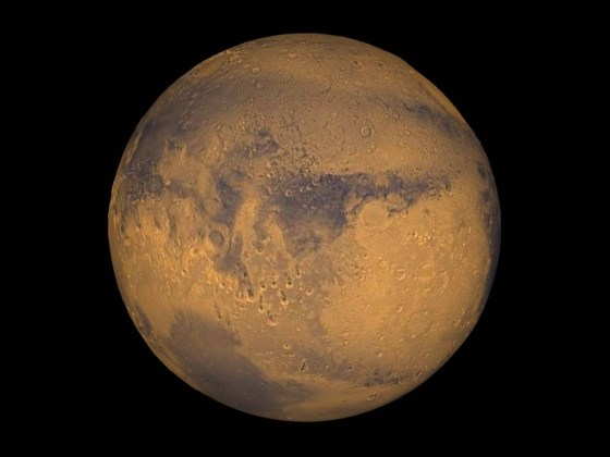 Mars, NASA/Greg Shirah