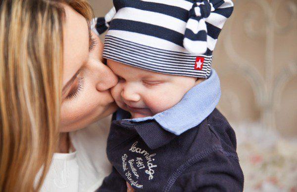 dieťatko a mama