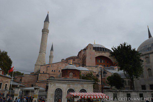 Hagia Sofia budova Istanbul