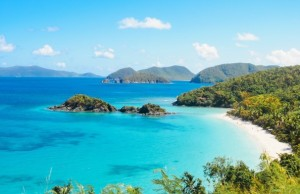 opustený ostrov exotika