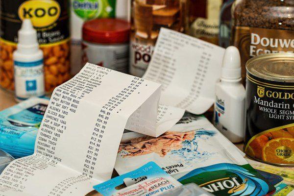 Pokladňa v supermarkete