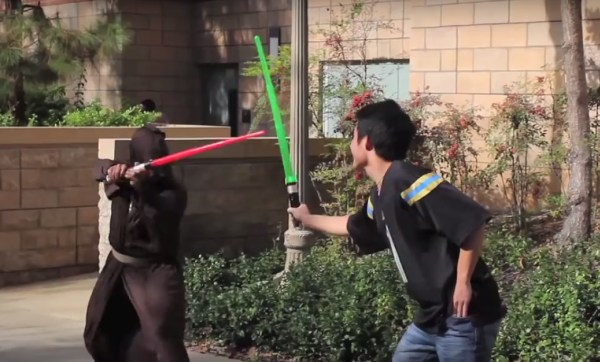 Star Wars Prank