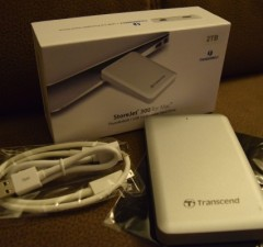Transcend 2TB StoreJet 300