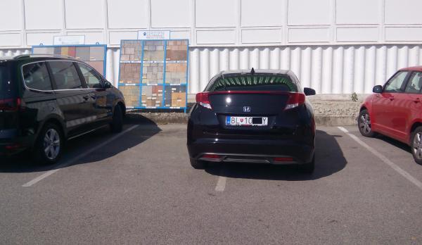 Bratislava parkovanie