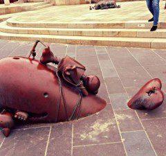 Haag, múzeum sochy