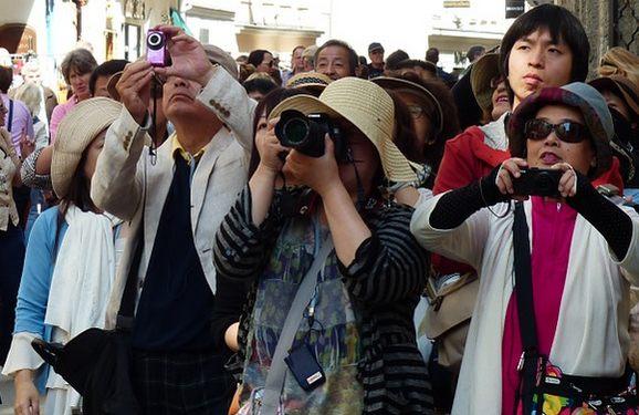 Japonskí turisti