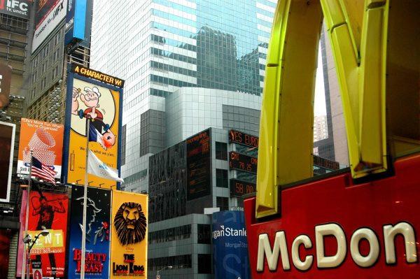 McDonald's reštaurácia Fast food