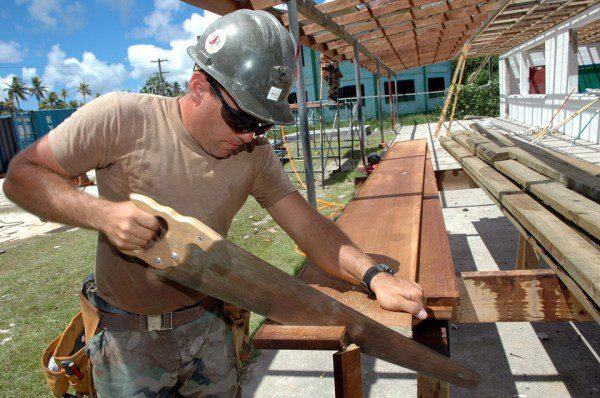 Pracovník, zamestnanie a práca s drevom