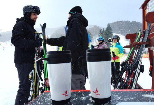 Testovanie lyží