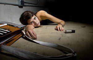 žena obeť násilia