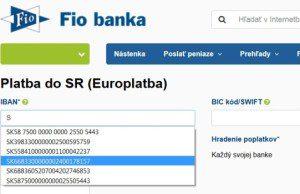 Banka a jej IBAN formát