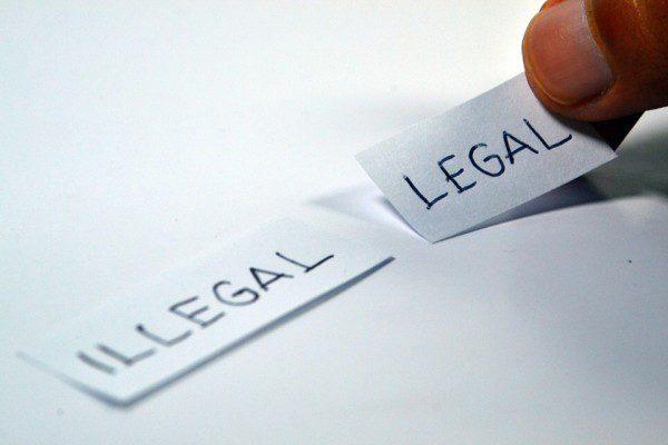 Legálne a nelegálne