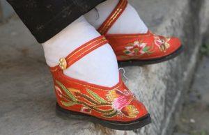 Čínska kultúra a lámanie nôh