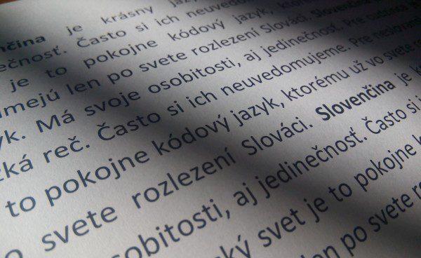 Slovenčina jazyk