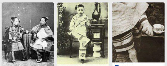 Stláčanie nôh v Číne