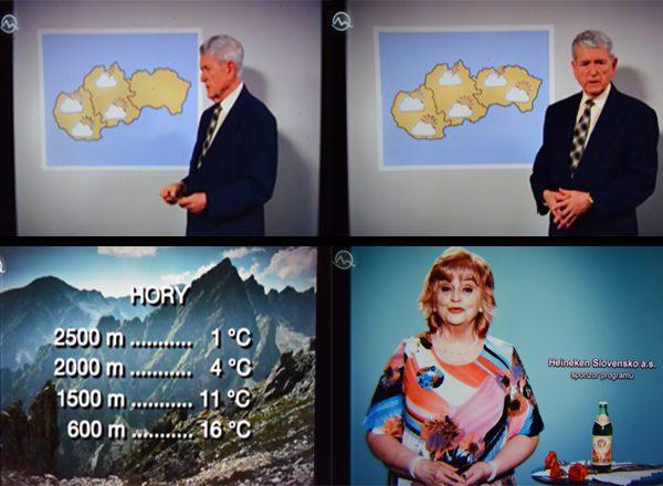 Bažant 73, reklama v predpovedi počasia
