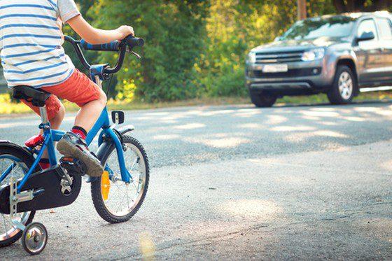 Bicykel a dieťa